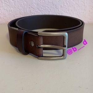 REI Brown Leather Belt medium